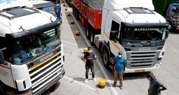 kenyan top security bosses solve movement of truck