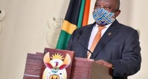 president Ramaphosa advises people on coronavirus