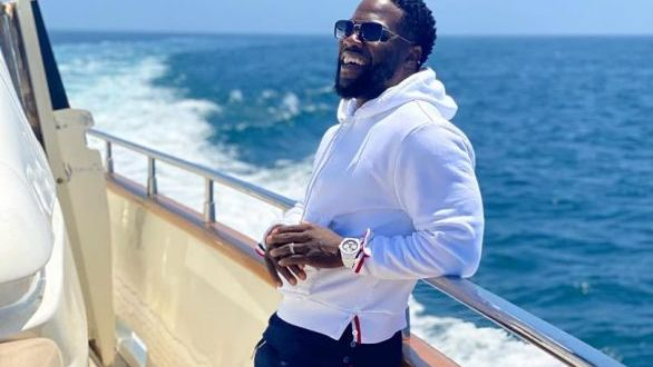 American Comedian Kevin Hart Celebrates Birthday In Style