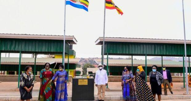 President Museveni Launches New Kasubi Market