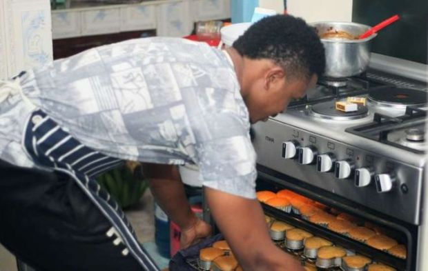 Footballer Turns House Into Bakery For Survival