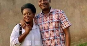 Pastor Bujingo and Susan Makula