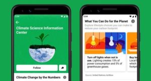 Facebook Launches Climate Science Information Centre