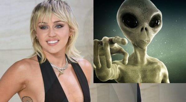 Miley Cyrus Recalls Making Eye Contact With An Alien