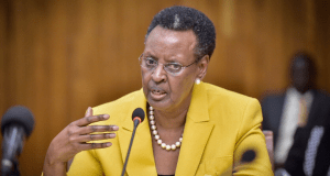 Janet Museveni, minister of education