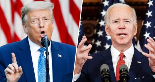 President Donald J Trump Still Trails Behind Rival Joe Biden
