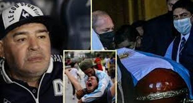 Mortuary Worker Sacked For Taking Selfie With Diego Maradona's Body