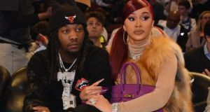 I don't cook, I don't clean- Rapper Offset Catches Cardi B Cleaning