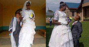 Beautiful Bride Who Married Shorter Man Proudly Confesses She Loves Him The Way He Is