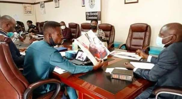 Electoral Commission Tells Bobi Wine To Take Officers To Court