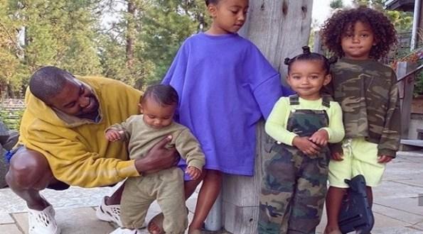 Kim Kardashian Shares Adorable Family Photo As She Stays Silent On Divorce