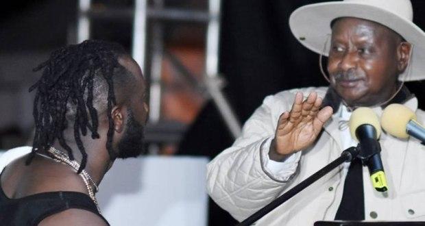 Bebe Cool Walks In Shame As President Denies Him Speaking Platform