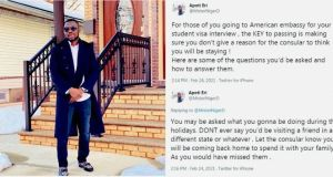 African Man Living In US Reveals Why US Embassy Denies People Student Visas