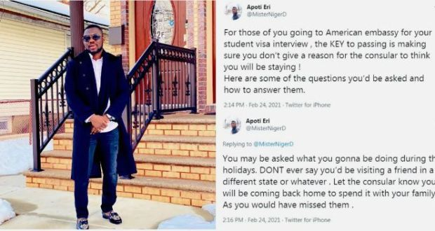 African Man Living In US Reveals Why US Embassy Denies People Student Visas