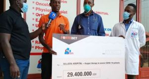 Fortebet Donates 29.4 Million To Najeera Hospital