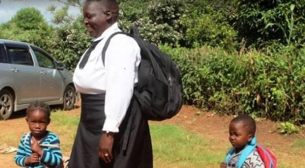 62 Year Old Grandma Maureen Ngoma Goes Back To Primary School