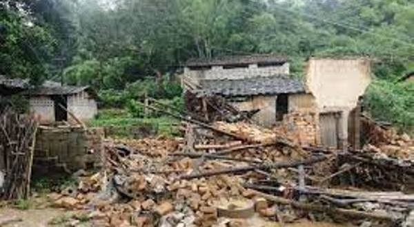 Pregnant Mother And Her Son Die After House Collapses On Them