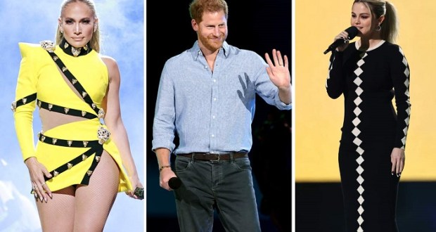 'Vax Live' Concert Led By Prince Harry And Jennifer Lopez