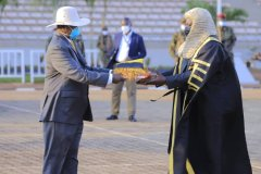 The New Speaker Asks Museveni For New Cabinet List