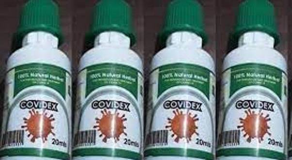 National Drug Authority Has Licensed Covidex To Manage Viral Infections