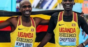 Cheptegei And Kiplimo Congratulated By President Museveni