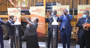 Nile Breweries Donates 300 Oxygen Cylinders To Aid Covid-19 Fight