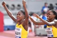 Nanyondo, Nakaayi Through To The Women 800m Semi-Finals