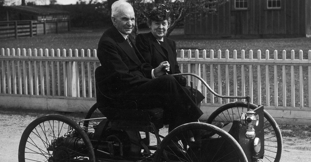 Невероятная история Генри Форда и его жены