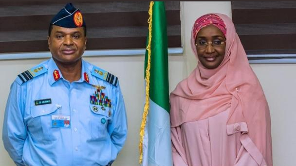 Chief of Air Staff Marries Humanitarian Minister
