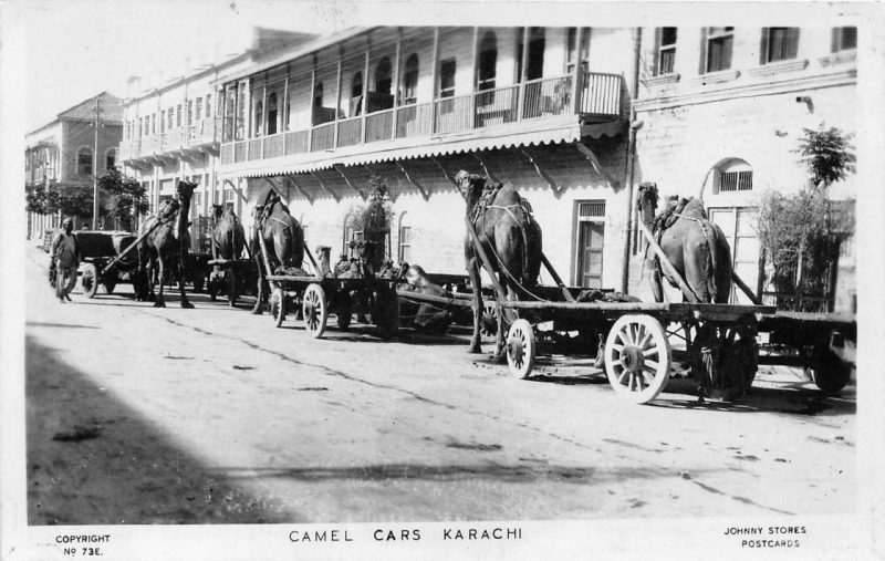 History in Photos Karachi Streets  Newsline