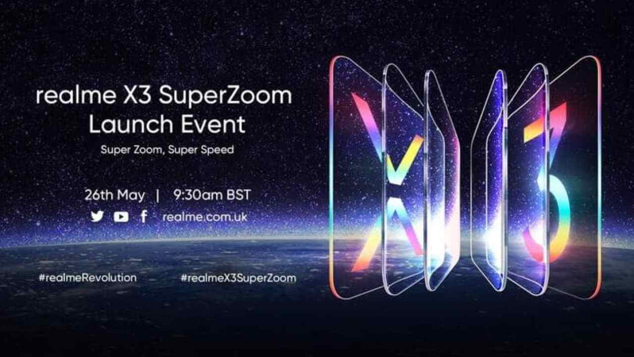 Realme X3 Superzoom Launched On May 26 With 60x Zoom Know Details