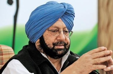 Chief minister captain amrinder singh
