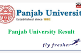 Panjab University: Result May/September-2020