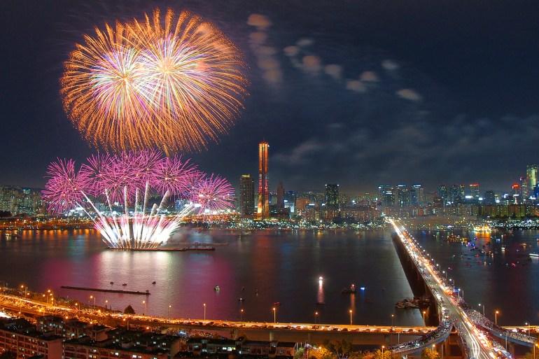 서울 세계 불꽃 축제에 대한 이미지 검색결과