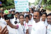 Selfie with BBMP Mayor B.N Manjunatha Reddy