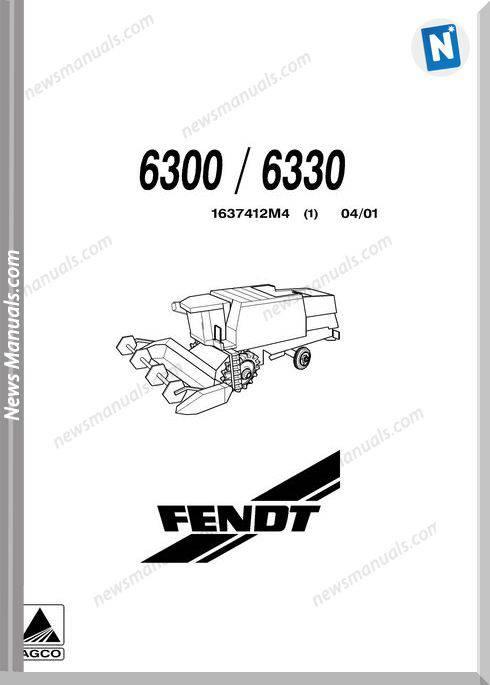 Agco Fendt 6300 6330 Part Manual