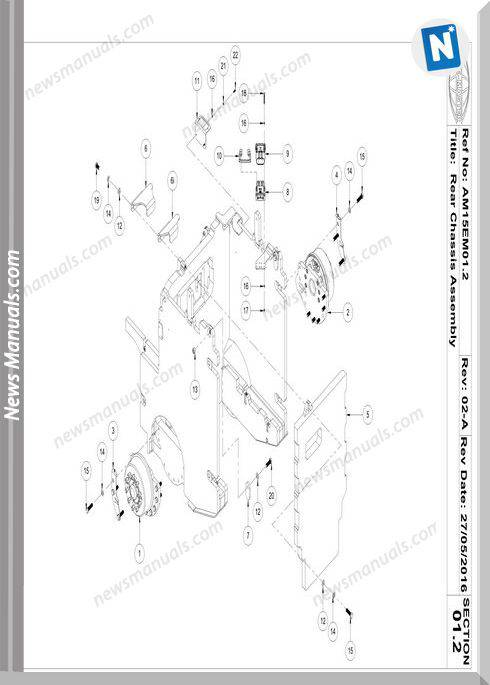 Aisle-Master Electric Mkiii 2016-Up Am15Se-M3 Parts Manuals