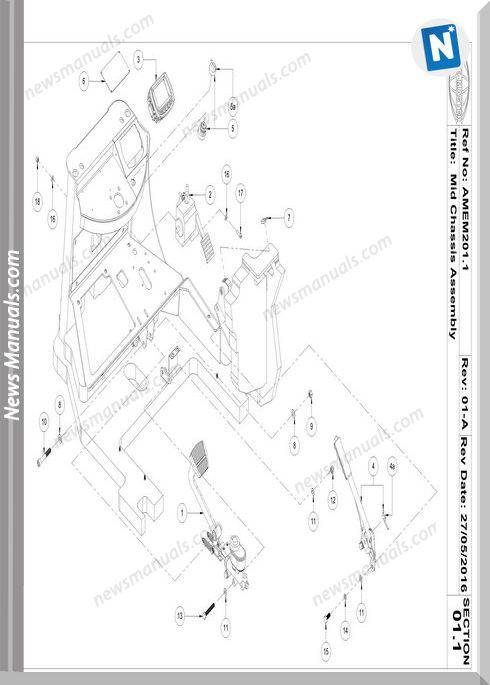 Aisle-Master Electric Mkiii 2016-Up Am20Le-M3 Parts Manuals