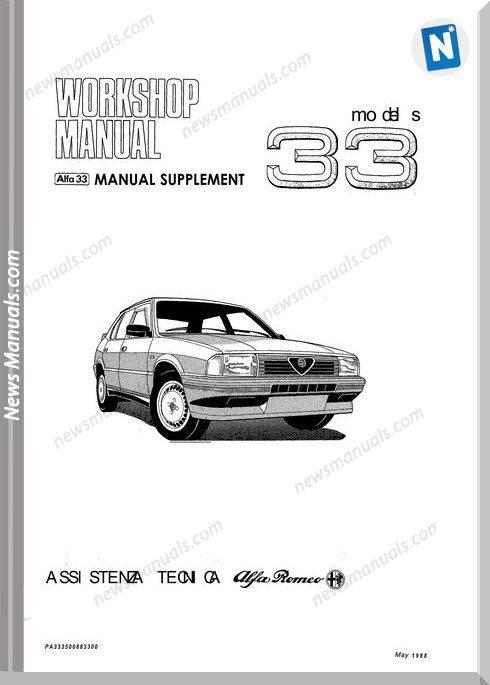 Alfa Romeo Workshop Manual Full 7Ie