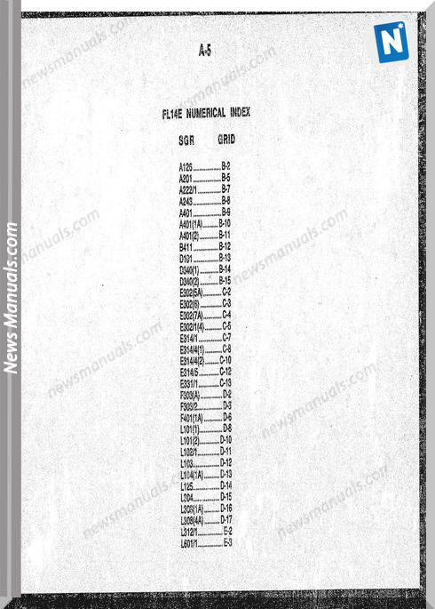 Allis Fiat A2 Fl14E Number 75127101 Parts Manual