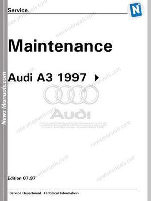 AUDI All Manuals • News Manuals
