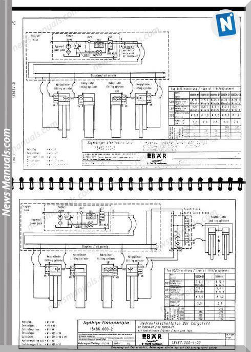 Bar Cargolift Schematic German Language Wiring Diagram
