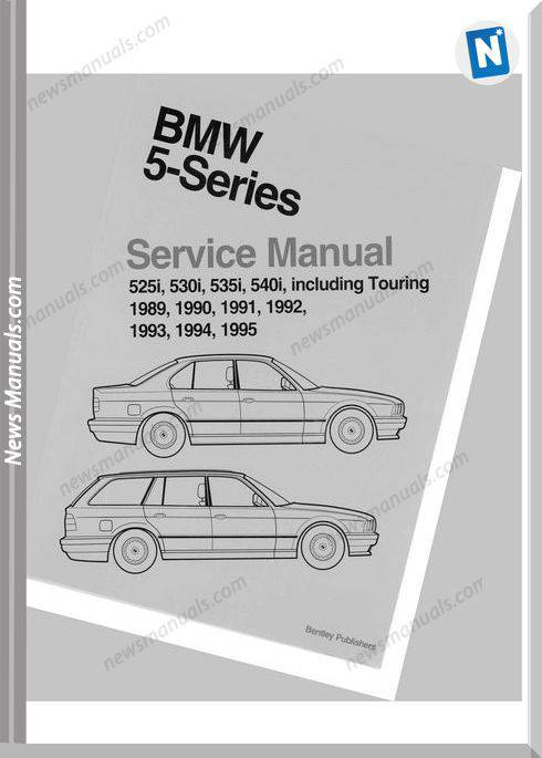 Bentley Bmw 5 Series E34 Service Manual