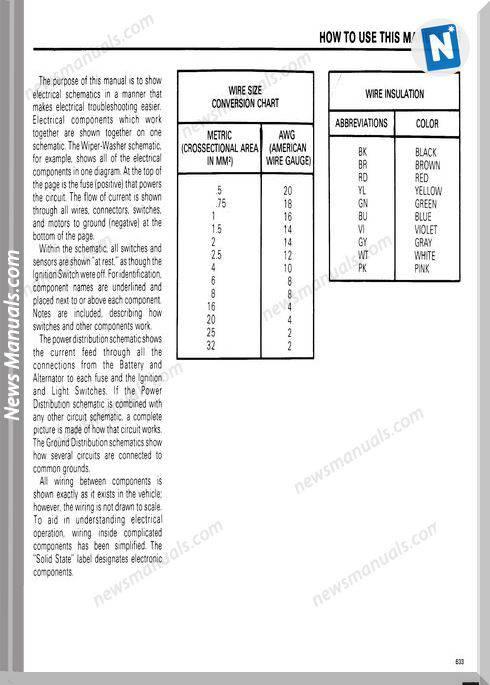 Bmw 633Csi Electrical Troubleshooting Manual 1984