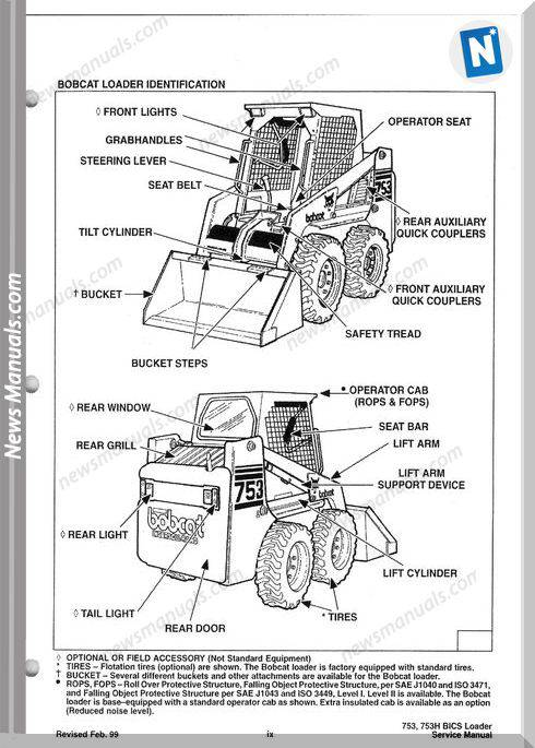 Bobcat 763 Operators Manual