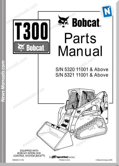 [DIAGRAM] Bobcat T300 Wiring Diagram FULL Version HD