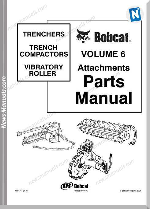 Bobcat Trench Compactor Part Catalog