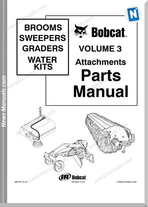 Bobcat Whisker Push Broom Parts Catalog