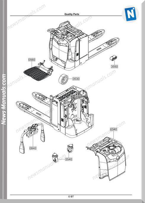 Bt Lpe200 220 250 Spare Parts