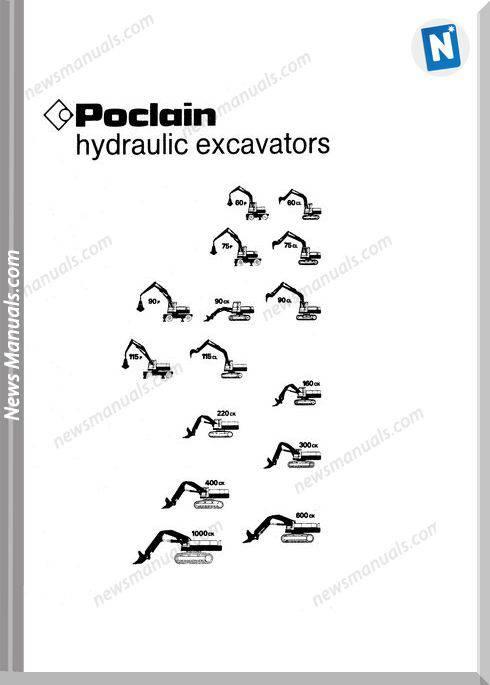 Case Excavator 60,75,90,115,160 Operators Manual